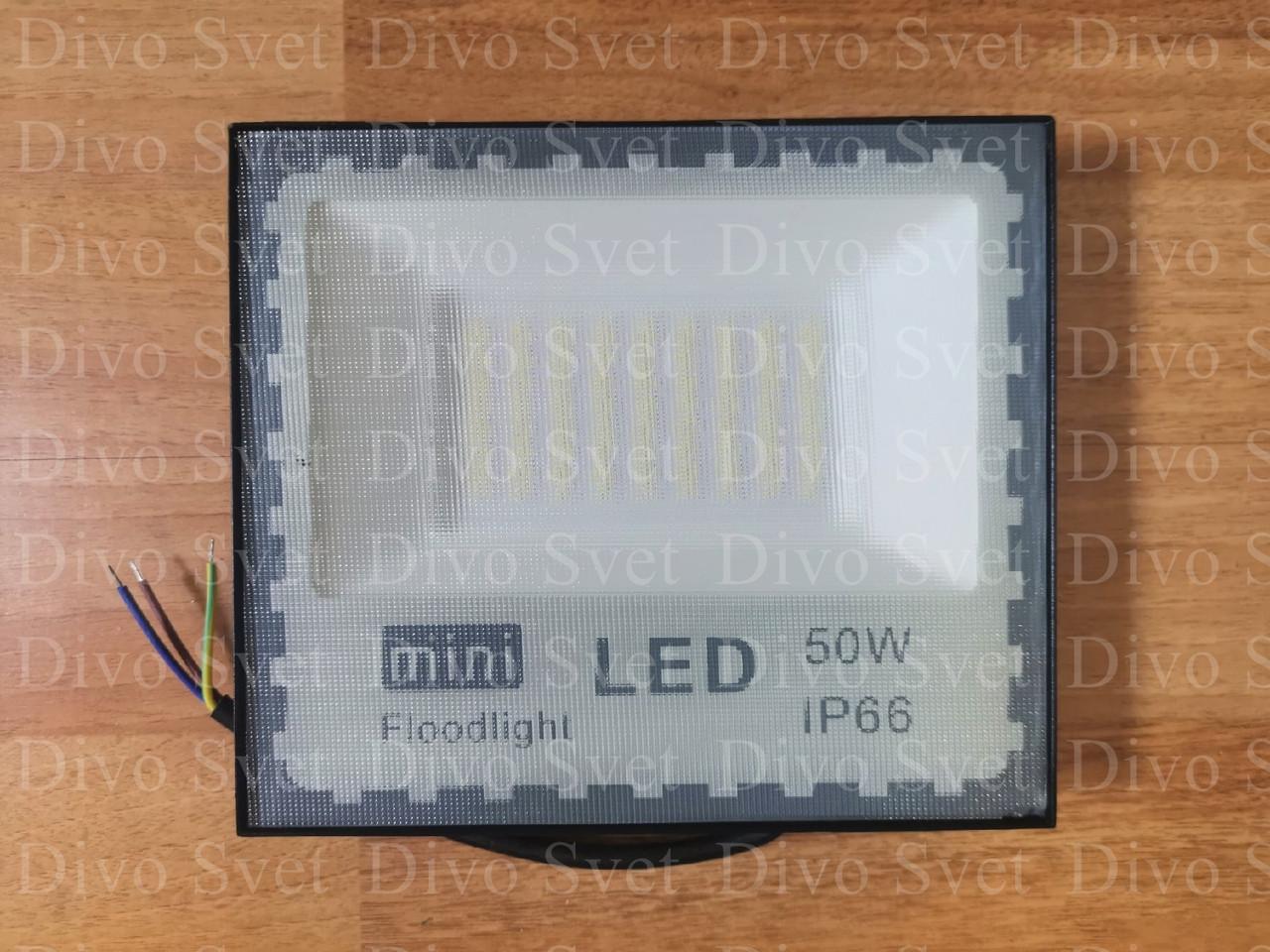 """Прожектор светодиодный """"Mini"""" 50W """"Стандарт"""" серия, эконом. LED Прожекторы освещения 50 Ватт."""