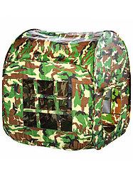 Палатка Дом 86*86*108 см 8042 военная база в сумке
