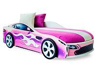 """Кровать машина """"Бондмобиль"""" розовый"""