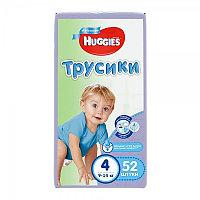 Huggies Ultra Comfort Трусики для мальчиков размер 4 (9-14 кг) 52 шт
