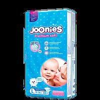 Joonies Подгузники размер L (9-14 кг) 42 шт