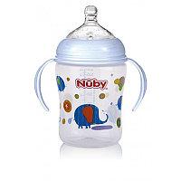Nuby Бутылочка-трансформер с ручками ID68003 с 3 мес 270 мл