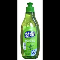 CJ Lion Cредство д/мытья посуды Chamgreen Зеленый чай 300 мл с дозатором