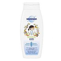 Sanosan Kids Гель для душа и шампунь 2 в 1 для мальчиков 250 мл