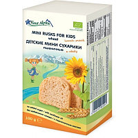 Fleur Alpine Детские мини-сухарики пшеничные с 3-х лет 100 гр