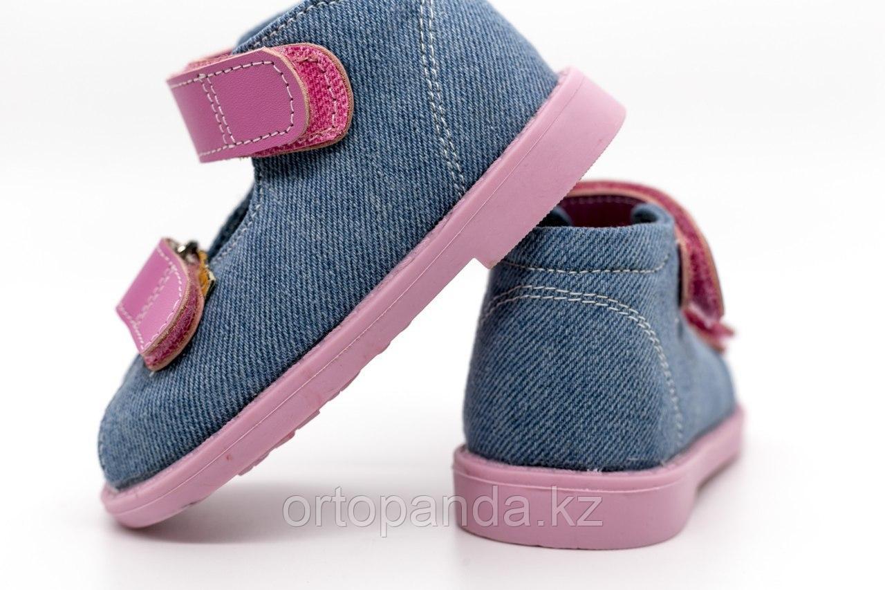 Детская ортопедическая обувь для дома и помещения, размеры 12,0-21,5 см (18-34 рр)