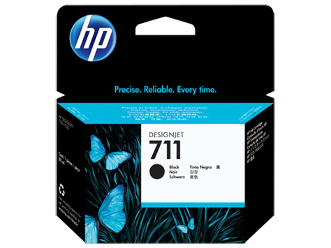 HP CZ133A Картридж черный HP 711 для Designjet T120/T520 ePrinter, 80 ml