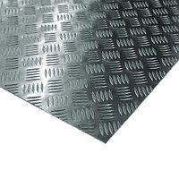 Лист рифленый «квинтет» 1,2-4,0 мм АМг2НР (АМР) ГОСТ 21631-76