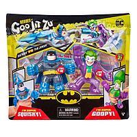 Тянущиеся фигурки Гуджитсу Бэтмен и Джокер набор тянущихся фигурок GooJitZu 38685