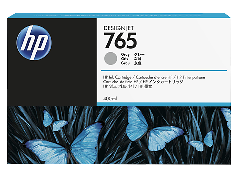 HP F9J53A Картридж серый HP 765 для Designjet T7200