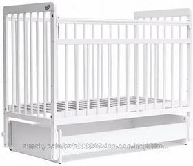 Кровать детская Bambini Евро стиль(белая)