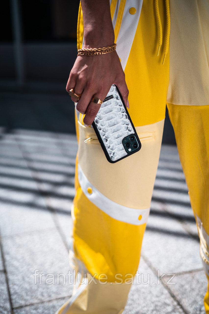 Чехол для телефона iPhone 12 Pro Max питон натуральный - фото 7