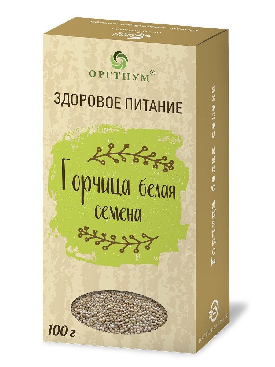 Горчица белая семена 100,0 улучшение пищеварения