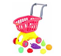 Игровая тележка с фруктами, корзина