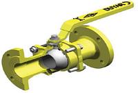 Шаровой кран фланцевый для газа DUYAR T-0710