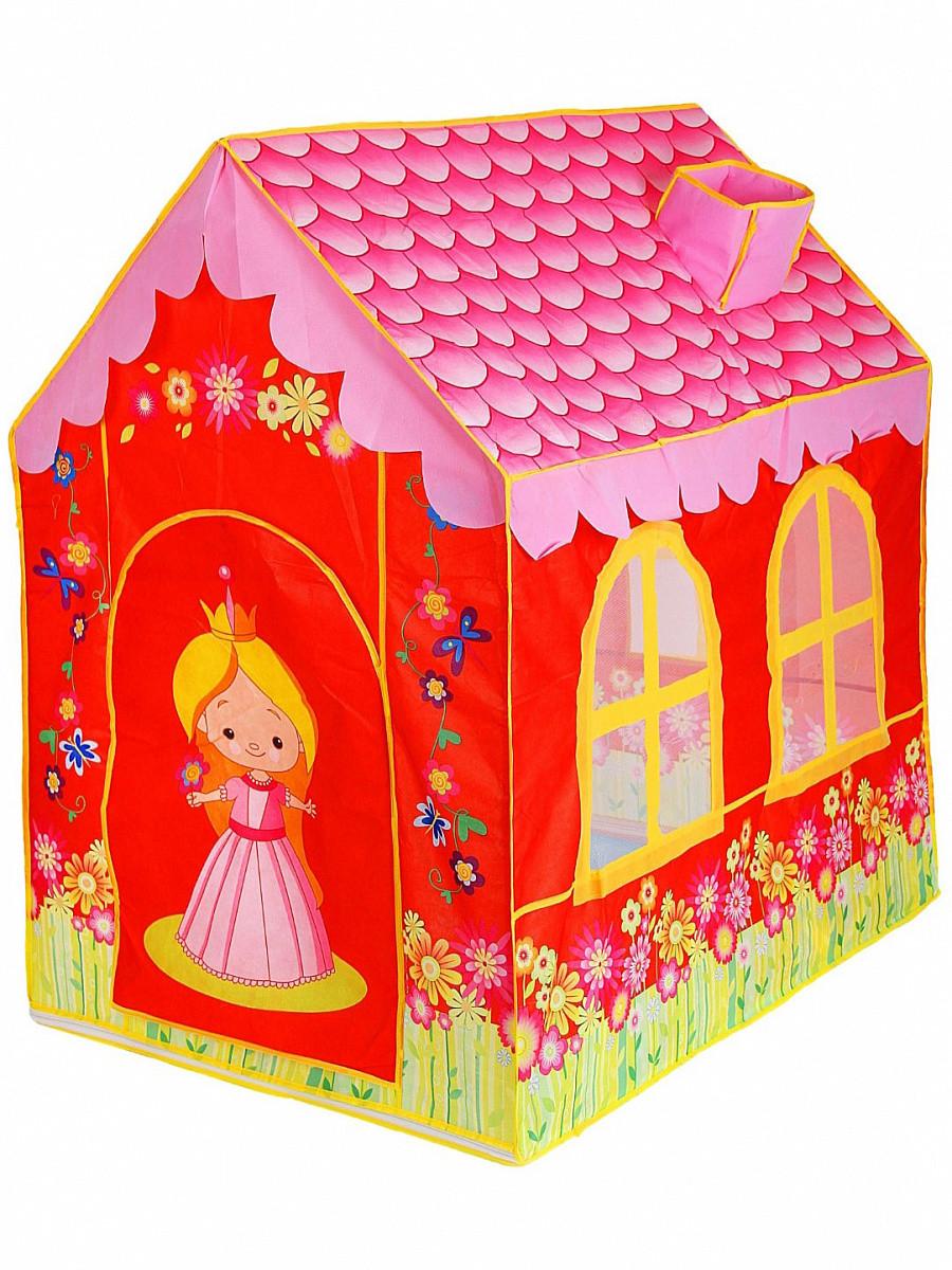 Детская игровая палатка Дом 100*73*107 см 889-129В в сумке