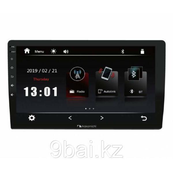 """ГУ Universal  9"""" Nakamichi NAM1700-M9,4x50Вт,RDS,MP5,USB,BT,2,5D экран,мультиподсветка,4V RCA аудио выходы,Mir"""