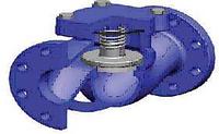 Клапан обратный пружинный DUYAR T-0250