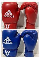 Боксерские перчатки ADIDAS  цвет красный ,синий ( размер 6 PU)