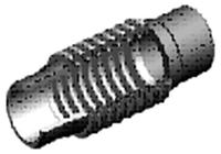 Компенсатор приварной нелинейный 30 mm DUYAR Т-1950