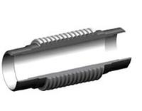 Компенсатор приварной линейный 30 mm DUYAR T-1990