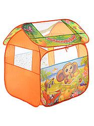 Детская игровая палатка  Чебурашка с азбукой