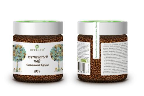 Гречишный чай 100 гр, Оргтиум, Уменьшение веса
