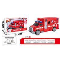 Машинка Музыкальная Пожарная Служба A1117-3