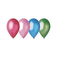 Воздушные шарики ВЕСЁЛАЯ ЗАТЕЯ 1111-0106 (Размер 25 см, Латекс, Металлик)