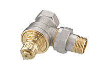 Клапан термолегурирующий.угловой вентиль RA-FN DN15