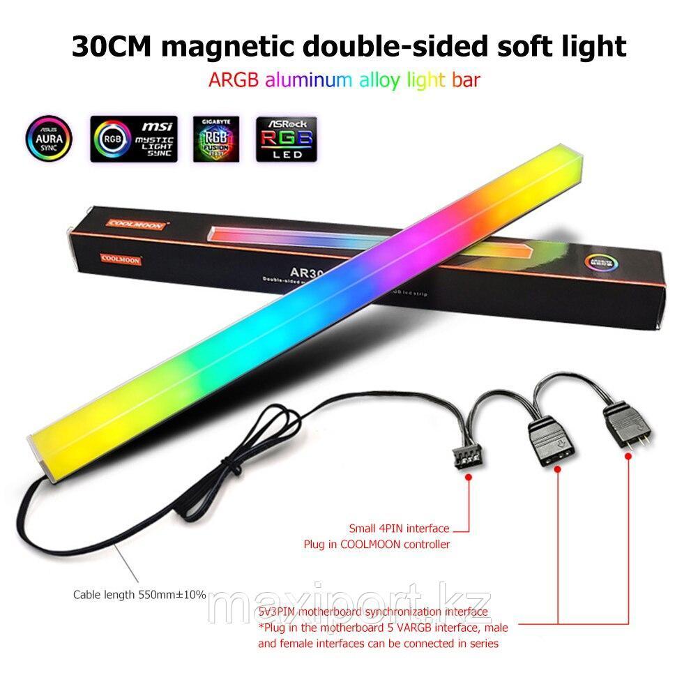 Подсветка для компьютера ARGB с магнитом подсветка корпуса ПК с адресной подсветкой