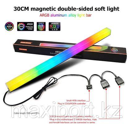 Подсветка для компьютера ARGB с магнитом подсветка корпуса ПК с адресной подсветкой, фото 2