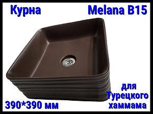 Курна Melana B15 для турецкого хаммама (⊡ 390*390 мм)