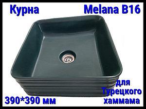 Курна Melana B16 для турецкого хаммама (⊡ 390*390 мм)