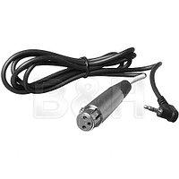 Стерео аудио кабель Hosa Technology длиной 1,5 метра (Mini Jack 3,5 mm на XLR мама)