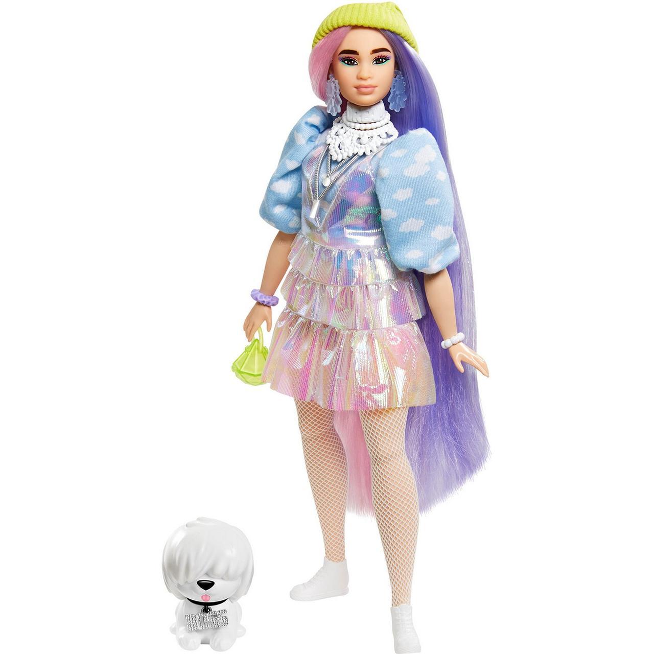 Barbie Экстра Модная Кукла в шапочке №2, Барби