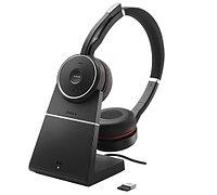 Гарнитура Jabra Evolve 75 Stereo MS, Charging stand & Link 370 [7599-832-199]