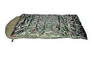 Спальный мешок INUK CAMO WB (2,27кГ)(218х114+38см)(-30ºC)(камуфляж) - без внутреннего одеяла