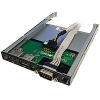 Планка USB/COM 1U SuperMicro [CSE-PT40L-B0]