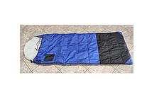 Спальный мешок ROCKY WB (2,27кГ)(208х91+38см)(-45ºC) (синий/черный) - без внутреннего одеяла