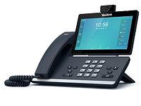 "Android телефон Yealink, 16 x SIP, 2 x GE, 2 МП, 7"" LCD, PoE [SIP-T58V]"