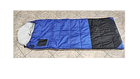 Спальный мешок ROCKY (2,27кГ)(208х91+38см)(-45ºC) (синий/черный) - c внутренним одеялом