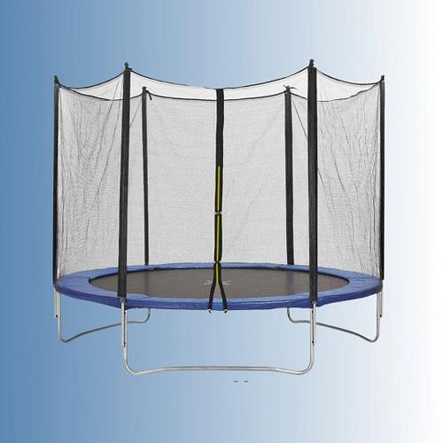 Батут пружинный 183 х 210 см с защитной сеткой