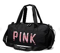 Непромокаемая спортивная сумка черный
