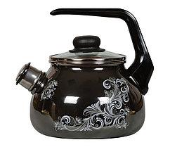 """Чайник эмалированный со свистком """"Iseberg"""" 2 литра"""
