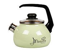 """Чайник эмалированный со свистком """"Maestro"""" 2 литра"""