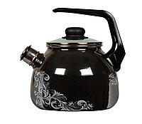 """Чайник эмалированный со свистком """"Iseberg"""" 3 литра"""