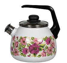 """Чайник эмалированный со свистком """"Violeta"""" 3 литра"""