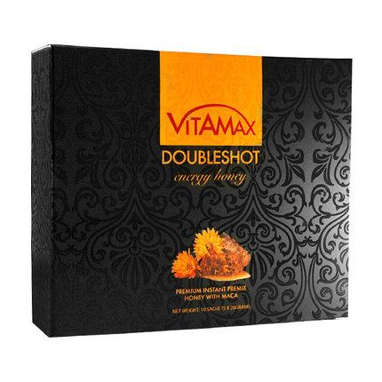 Мёд для улучшения и увеличения сексуальных возможностей мужчин Doubleshot Energy Honey Vitamax (Малайзия), фото 2