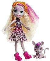 Кукла Enchantimals Зейди Зебра и Реф GTM27